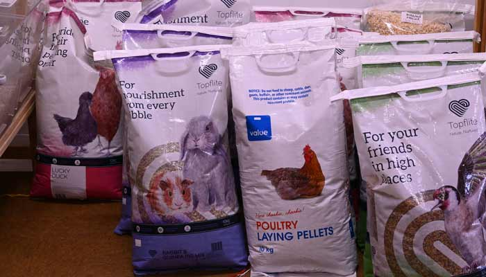 Pet food and bird seed, fill your own container